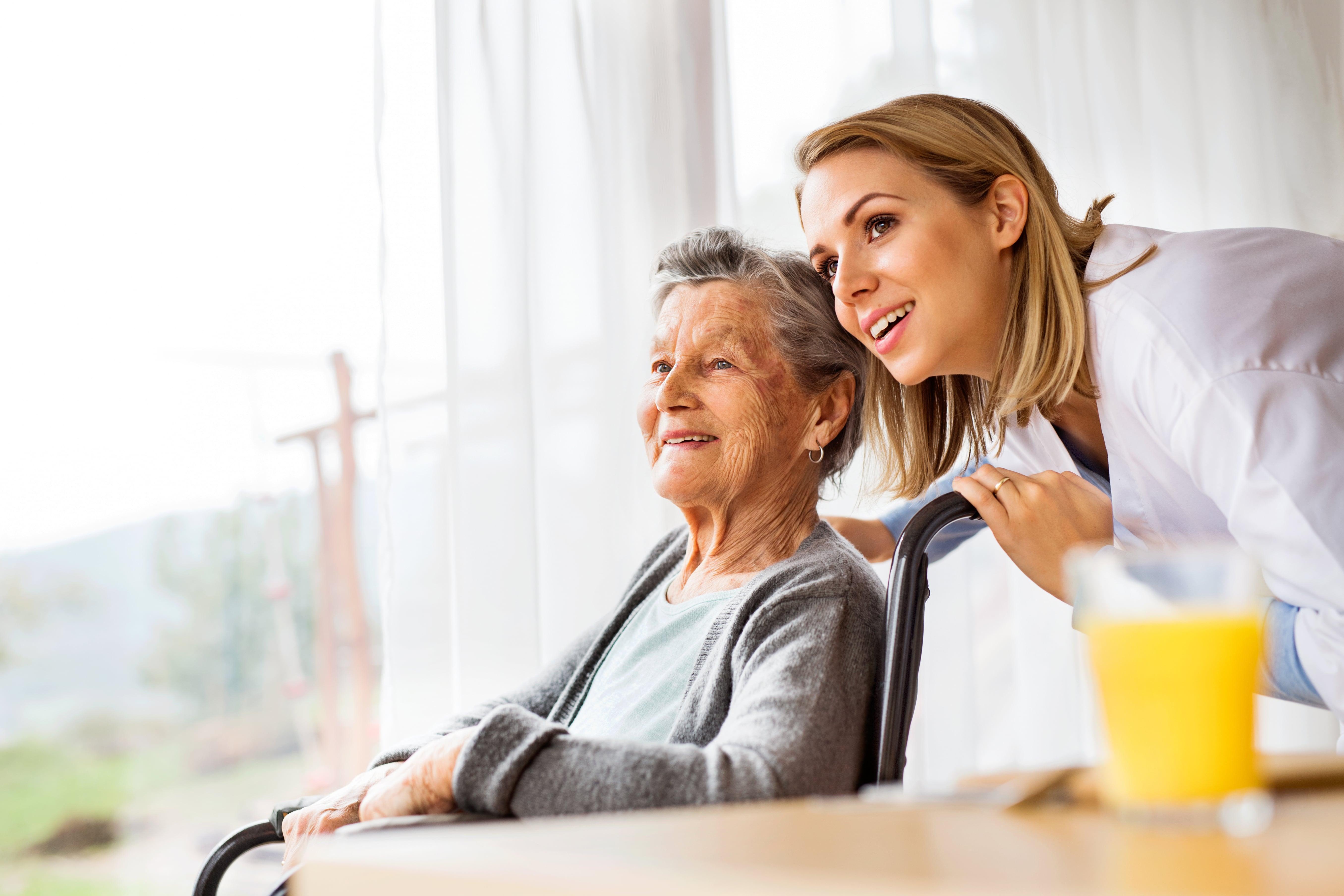 Wohnbetretung mit examinierte Pflegekräfte