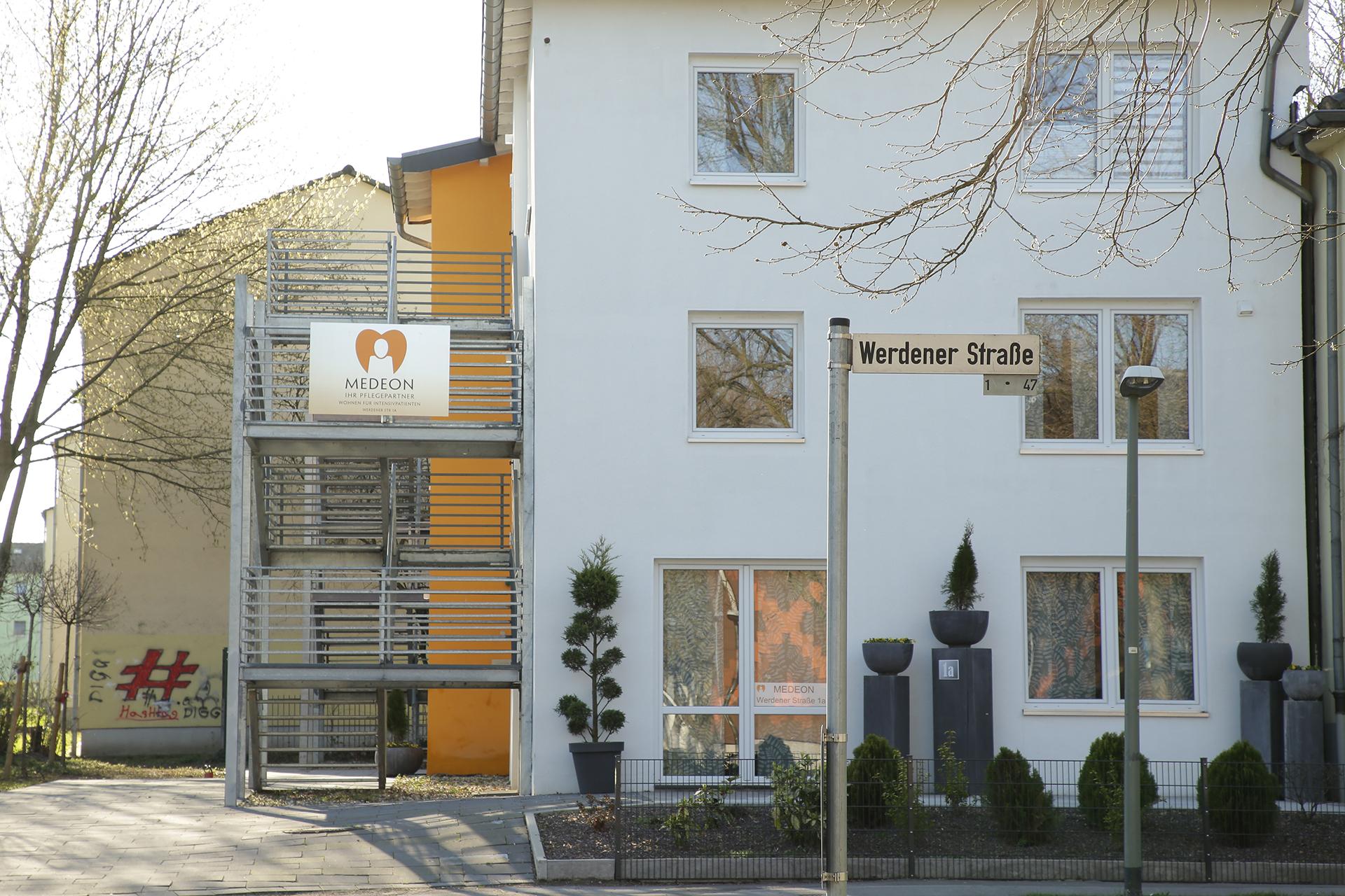In der Werdener Straße befinden wir uns in Gelsenkirchen